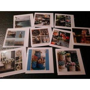 10 Fotokaarten Blanco