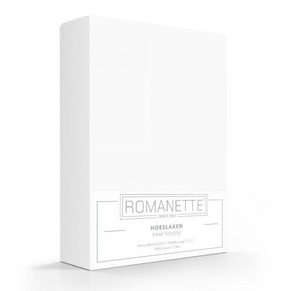 Hoeslaken katoen wit romanette online bestellen c m webshop snel en voordelig geleverd katoen - Paraplu katoen ...