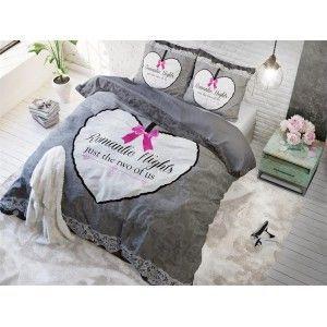 Dekbedovertrek Sleeptime Pure cotton Romantice Grey