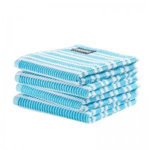 DDDDD Vaatdoek classic clean  Bright Blue(per 4stuks)