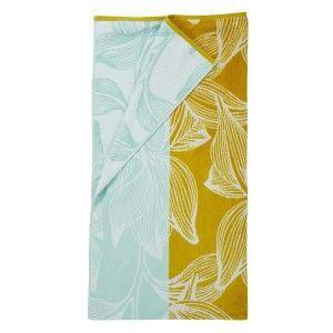 Sale*Strandlaken KAAT Amsterdam Mimosa Beach Towel Yellow