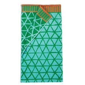 Sale* Strandlaken Kaat Amsterdam Flip Flop Beach Towel Green