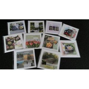 10 Fotokaarten Sterkte/Beterschap