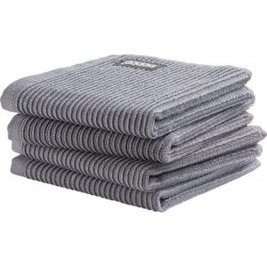 DDDDD Vaatdoek basic Neutral Dark Grey(per 4 stuks)