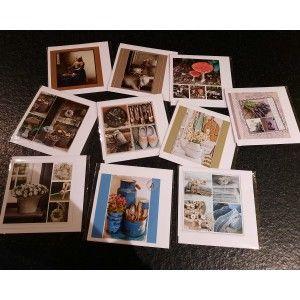 Fotokaarten Blanco