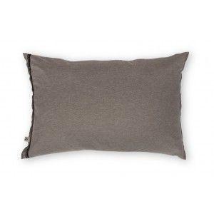 Sierkussen Walra Soft Jersey Taupe/Zand 40x60cm