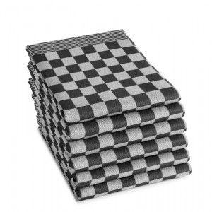 DDDDD Theedoek Barbeque zwart 60x65cm 10% korting